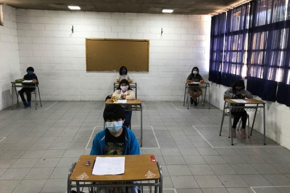 examenes libres colegio san alberto. Foto CSA